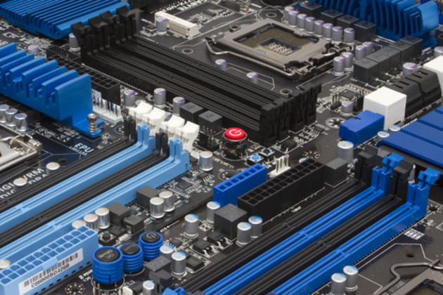 Ivy Bridge Motherboard (Credit: The Tech Report)