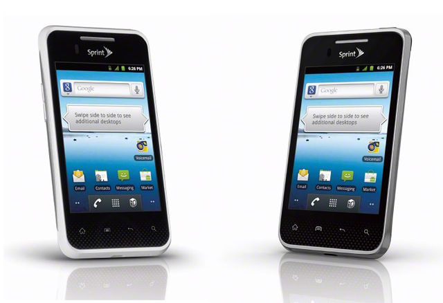 LG Optimus Elite 2-up
