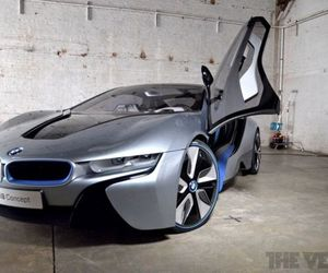 Gallery Photo: BMW i8: the supercar at rest