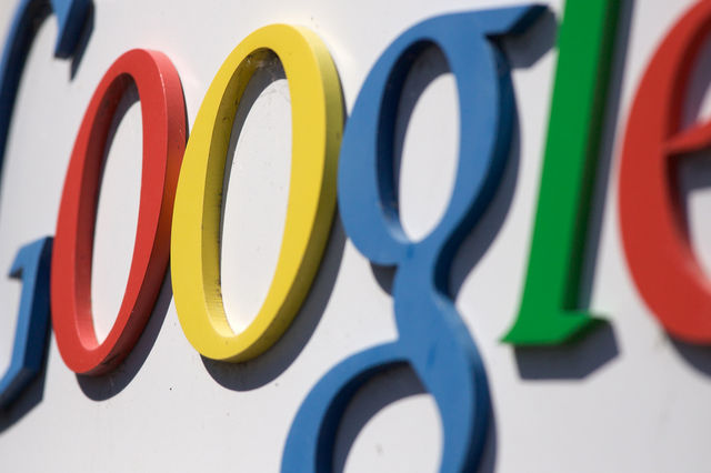 Google logo sign (Flickr)