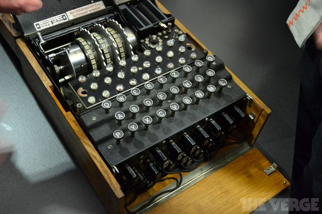Gallery Photo: German Enigma machine from 1936