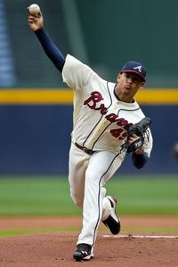 Jair Jurrjens pitched well in his return to AAA, allowing just 1 run over 7 innings.  (Credit: Daniel Shirey-US PRESSWIRE)