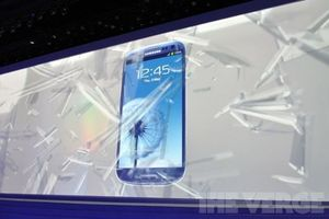 samsung galaxy s iii (breaking glass)