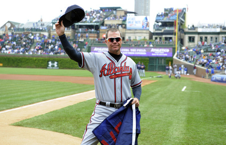Chipper Jones is attempting to cap his career with one of the best final seasons ever.