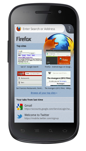 Firefox Beta Android official