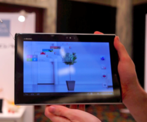 panasonic eluga tablet video