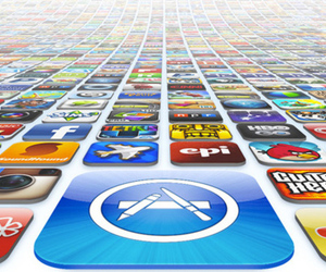 Apple iTunes App Store Field of Icons