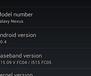 galaxy nexus android 4.0.4