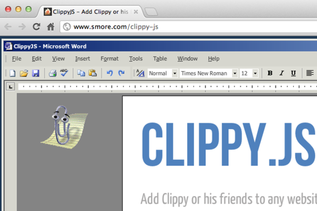 clippy js assistant
