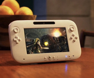 Wii U Gamepad official