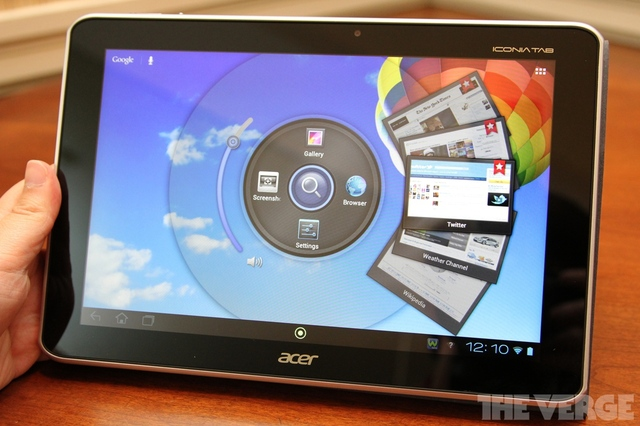 Gallery Photo: Acer Iconia Tab A700 hands-on pictures
