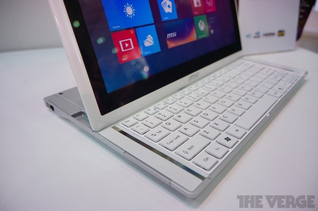 Gallery Photo: MSI Slider S20 hands-on photos