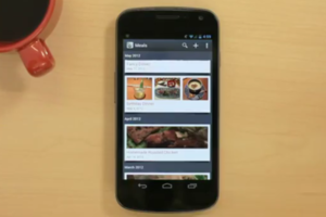 Evernote Food Android