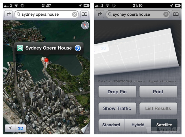 iOS 6 Beta maps