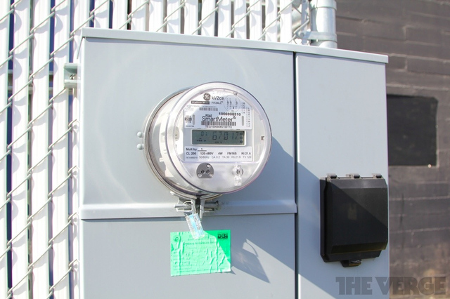 PG&E Smart Meter electricity power stock 1024