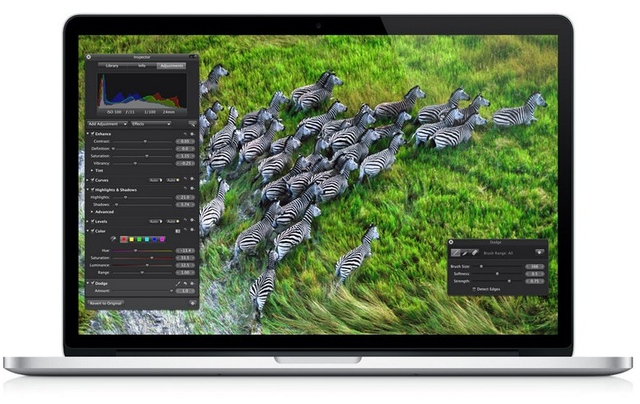 Gallery Photo: MacBook Pro with Retina display press photos