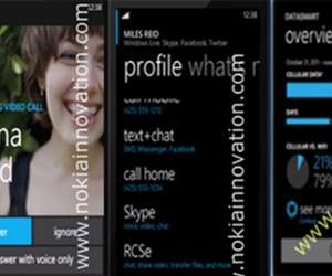 Windows Phone 8 leaked screenshots (Nokia Innovation)