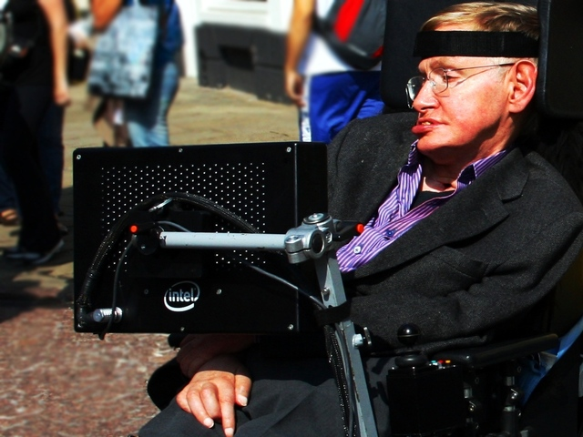 stephen hawking at cambridge