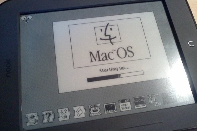 MacOS Nook Simple Touch Hack DNR
