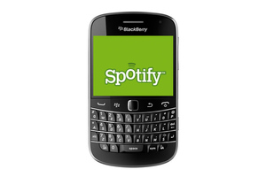BlackBerry Spotify