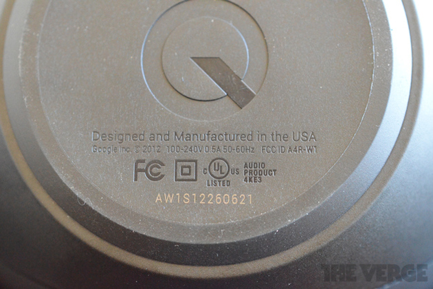Google Nexus Q made in USA