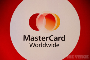 MasterCard Worldwide sign (STOCK)