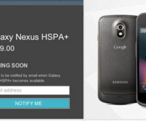galaxy nexus not in stock