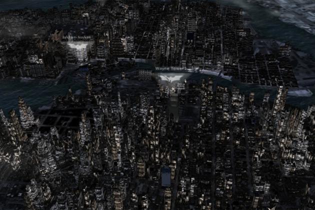 Gotham City 3D