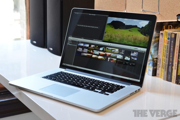 MacBook Pro with Retina Display stock