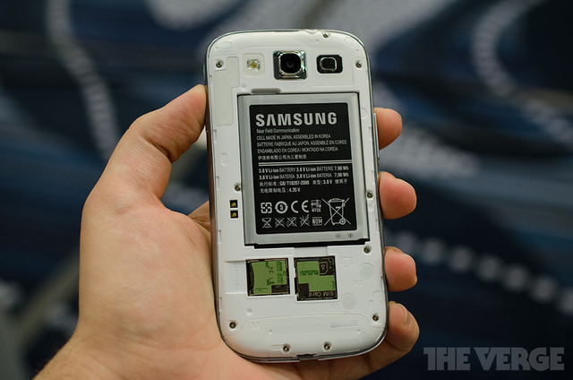 Samsung Galaxy S III white (STOCK)