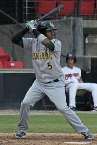 Edward Salcedo hit .556 with a 1.563 OPS this week.