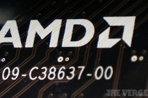 AMD logo stock