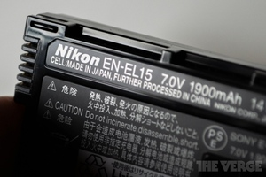 Nikon EL-EL15 battery