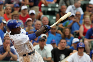 Alfonso Soriano may be one of the key Cubs who are moved by the trade deadline. (Photo by Tasos Katopodis /Getty Images)