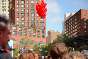 Gallery Photo: Occupy's DIY balloon cameras map the skies above NYC