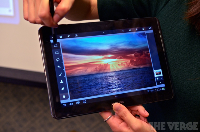 Gallery Photo: Samsung Galaxy Note 10.1 hands-on