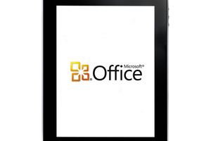 Microsoft Office iPad PS logo