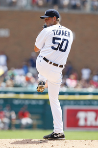 Welcome to the Miami Marlins, Jacob Turner. Mandatory Credit: Rick Osentoski-US PRESSWIRE