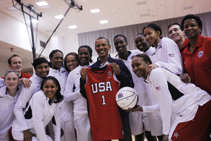 President Barack Obama, Team USA's