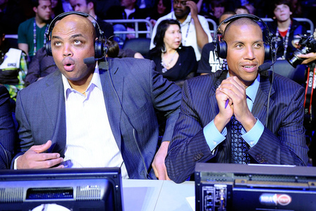 Charles Barkley, great American.  (Photo by Kevork Djansezian/Getty Images)