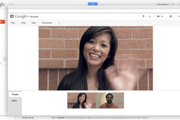 Gad-O-Tech: Google enables Hangout video chats directly through Gmail
