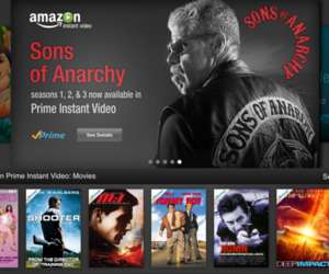 Amazon Instant Anarchy on iPad