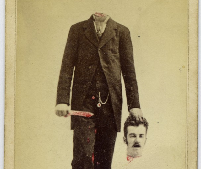 Headless Man Trick Photograph