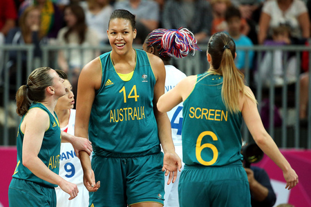 Will the WNBA benefit from the potential return of 6-foot-8 center Liz Cambage to the Tulsa Shock after the 2012 London Olympics? Photo by Christian Petersen/Getty Images.