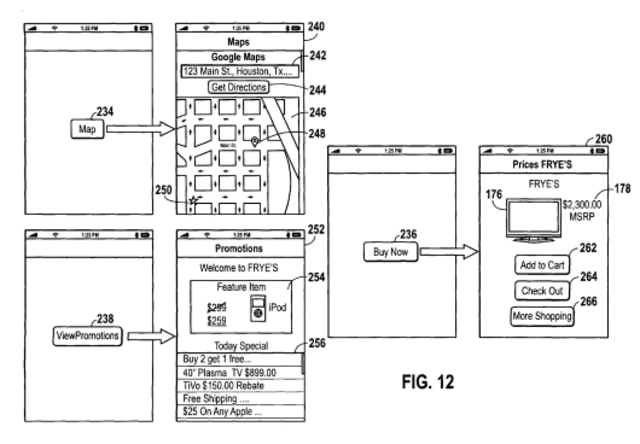 Apple Patent 2 &quot;on-the-go shopping lists&quot;