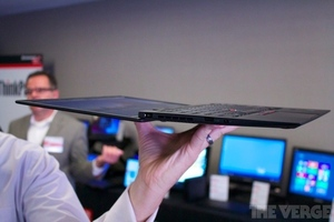 Gallery Photo: Lenovo ThinkPad X1 Carbon hands-on pictures