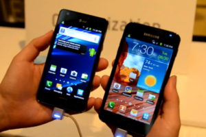 Galaxy SII AT&amp;T, Sprint Galaxy S II Epic 4G Touch hands-on
