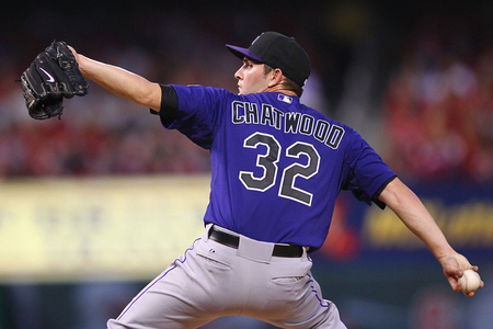 Tyler Chatwood showed flashes of the pitcher Colorado traded Chris Iannetta for this off-season.