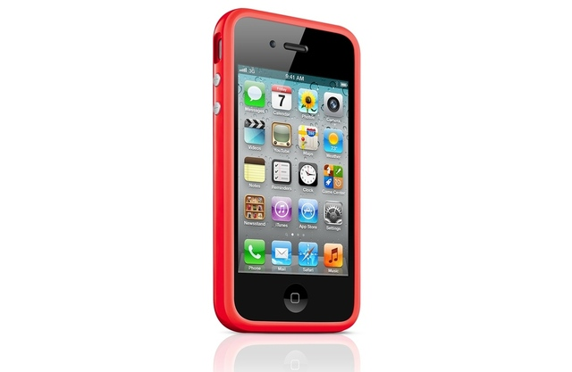 iPhone 4/4S red bumper (big)