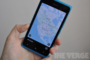 Nokia Maps stock
